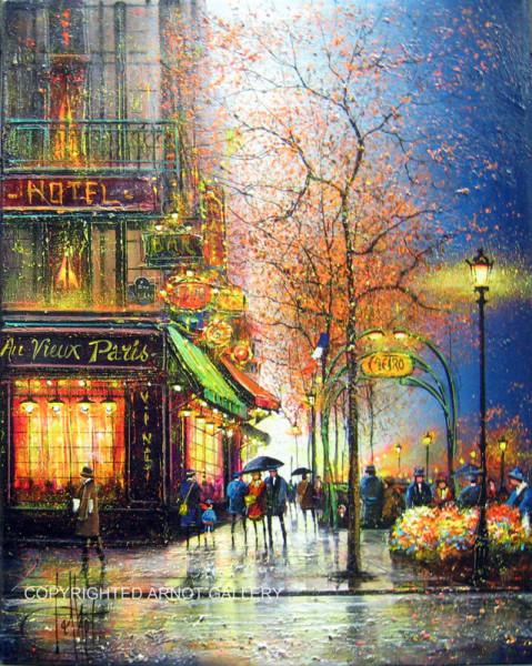 Paris les Grands Boulevards le metro