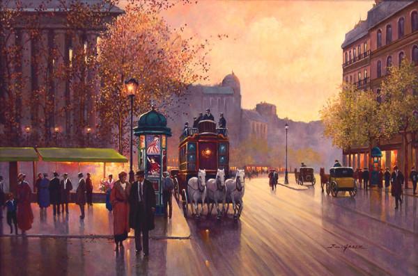 Evening on the Boulevard