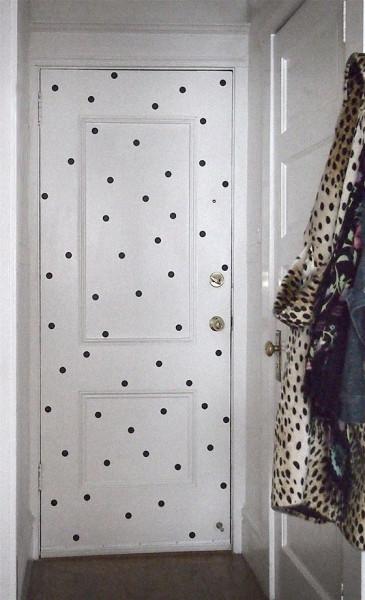 Polka dots gone wild