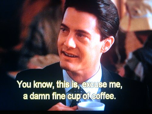 Image result for damn fine coffee