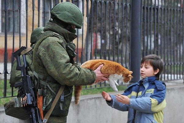"""""""Вежливый солдат с котом"""" - история темы - ГОСУДАРСТВО ..."""