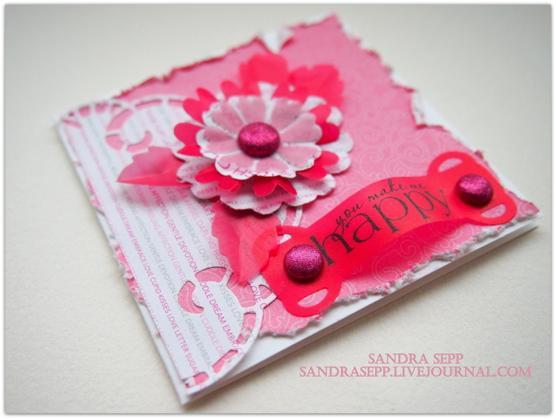 Pink Valentine day cards 006