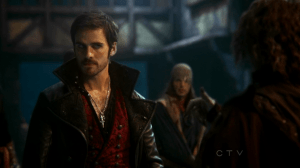 "Colin O""Donoghue as Captain Hook on Once Upon A Time S02E04 Crocodile 4"