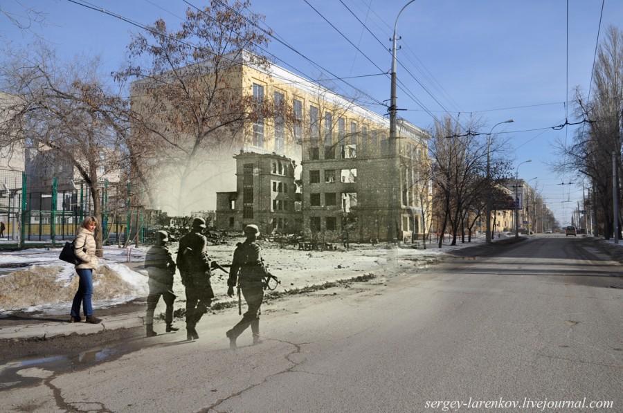 10. Сталинград 1942-Волгоград 2013. Немцы у школы