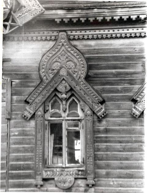Старые фотографии домов и наличников - Наличники России