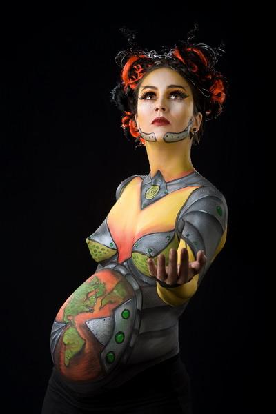 Боди-арт для беременых: tanjand — LiveJournal