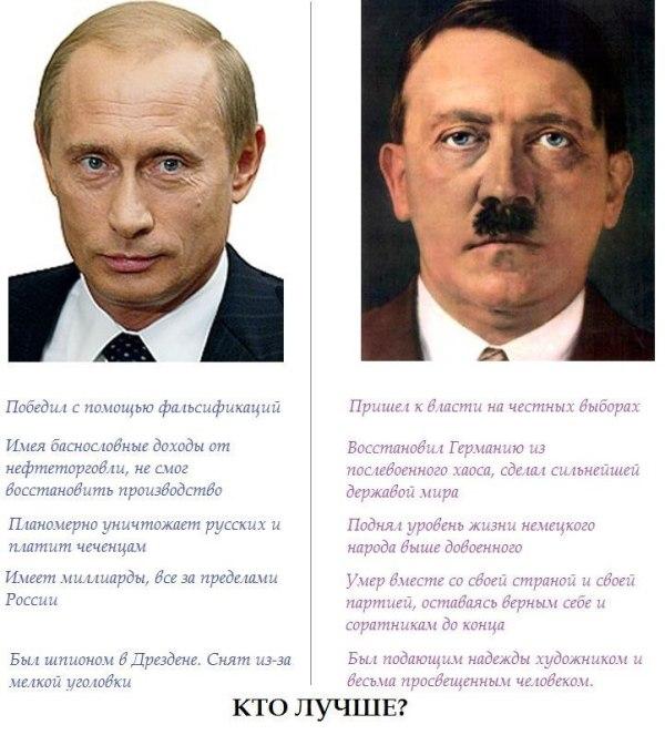 Фото Гитлер И Путин