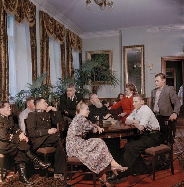 Фото из прошлого. Советские люди. Десять лет после войны ...