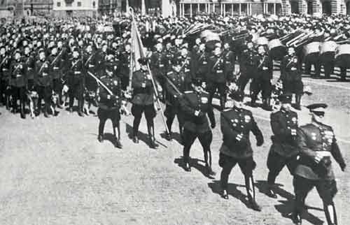 война парад генерал собы