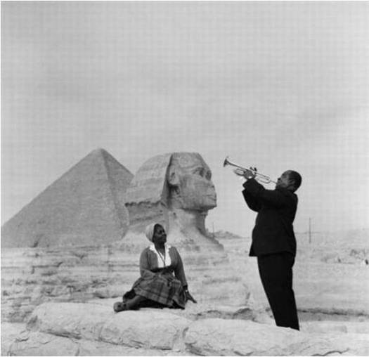 Louis Armstrong in Egypt
