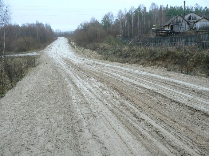 Сыктывкар-Котлас-Вологда-Питер (граница Коми - Архан. обл,) 2