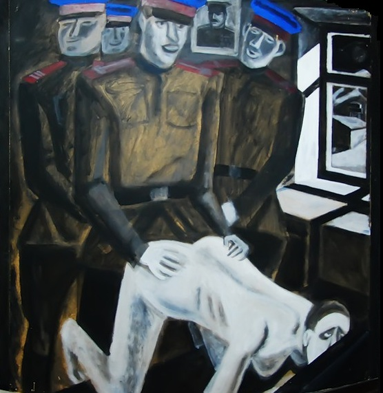 Игорь Обросов. Жертва Гулага.2000-е (фрагмент)