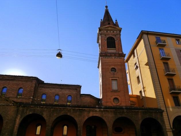 арочные галереи Болоньи