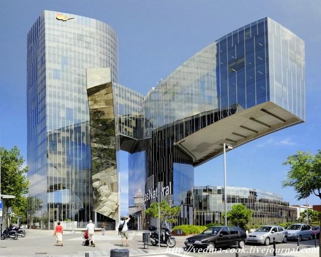 Башня Маре Нострум Барселона