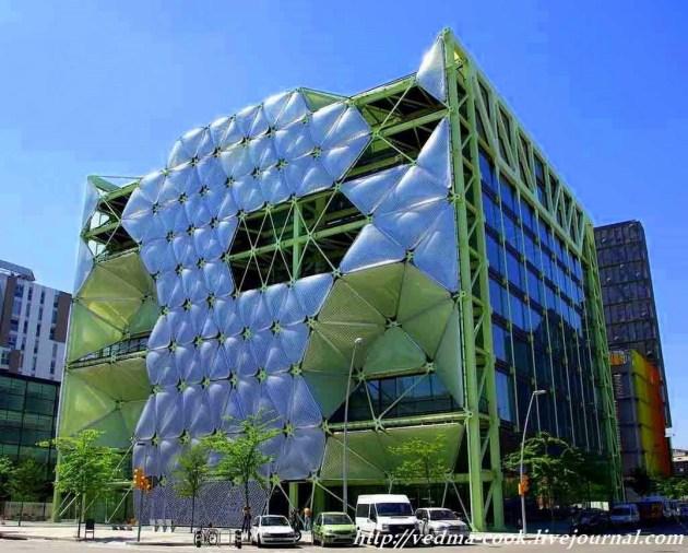 Здание Media-TIC Барселона
