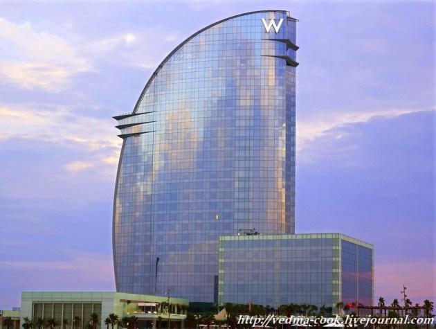 Отель W Барсеона Испания