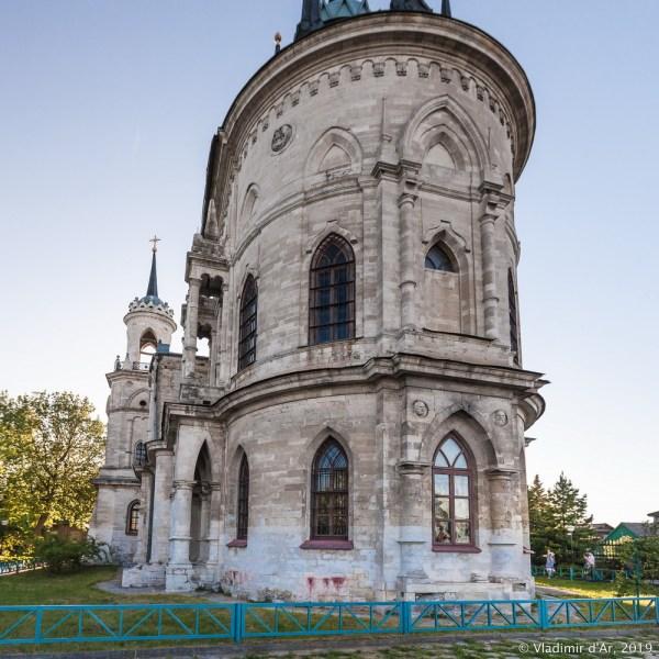 Усадьба Быково. Церковь Владимирской иконы Божией Матери ...