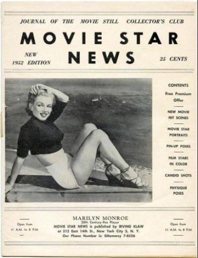 movie star news 1952a