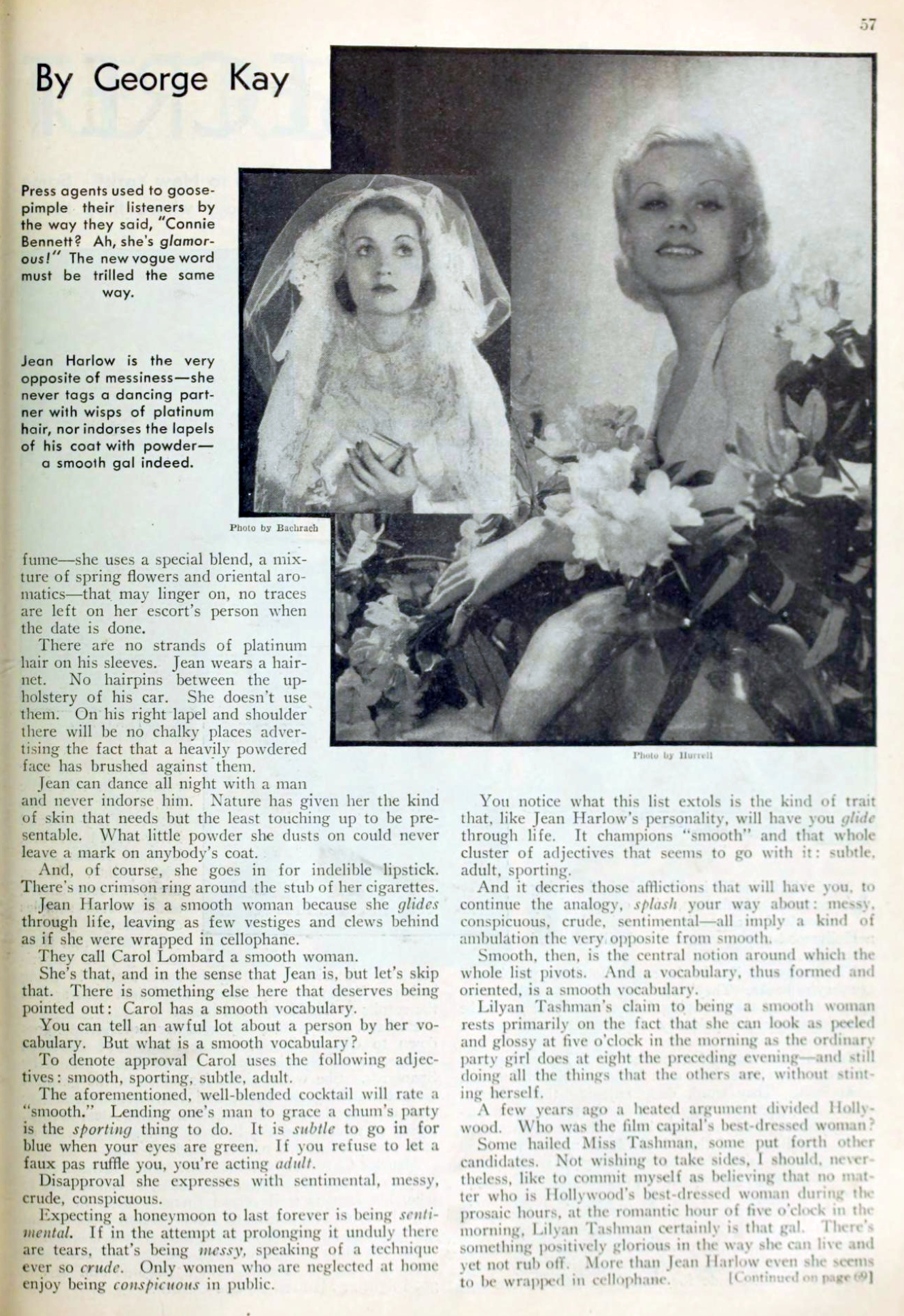 carole lombard picture play april 1933 it's smart to be smooth 01a