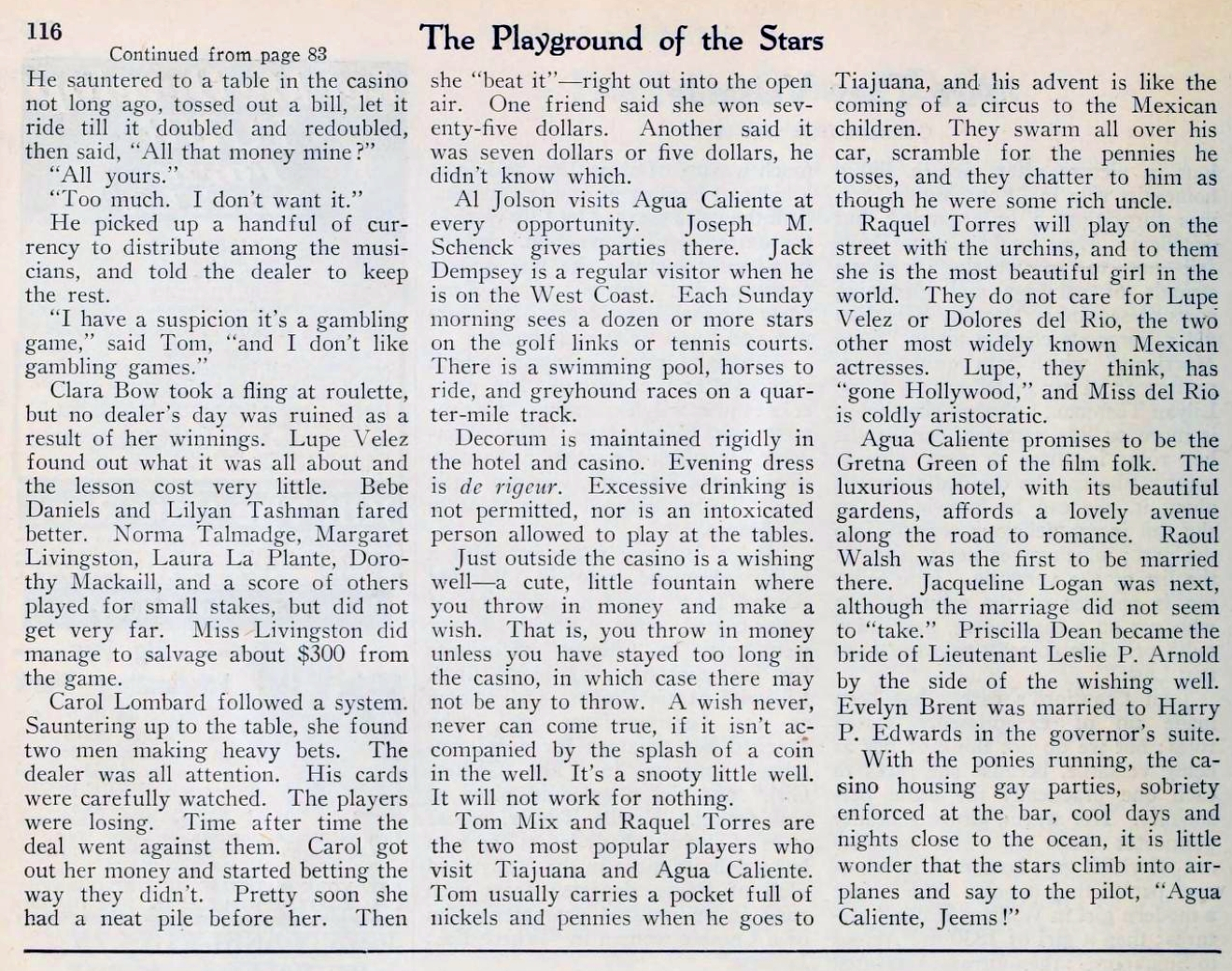 carole lombard picture play jan 1930 the playground of the stars 01a