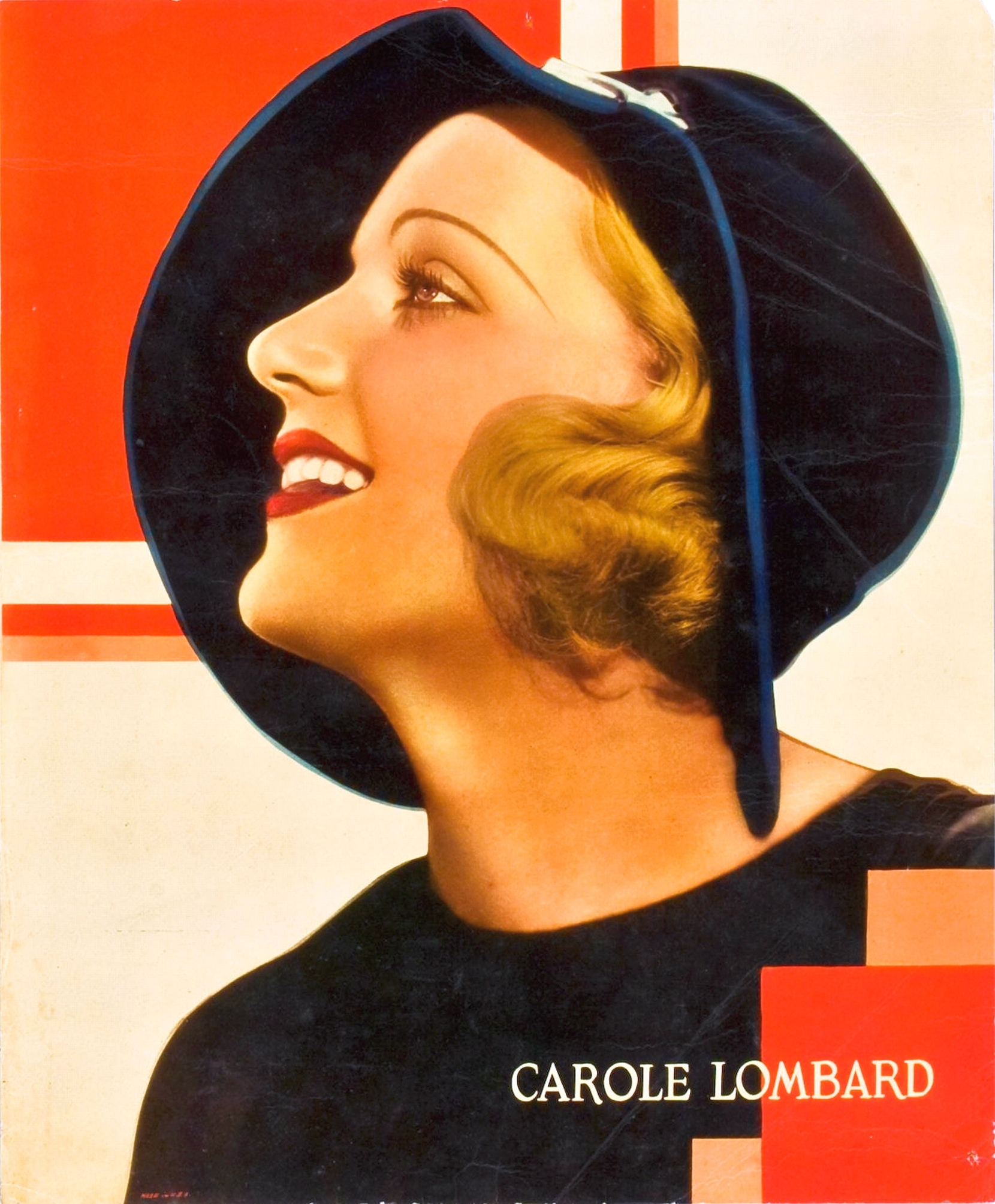 carole lombard paramount personality poster 00a large