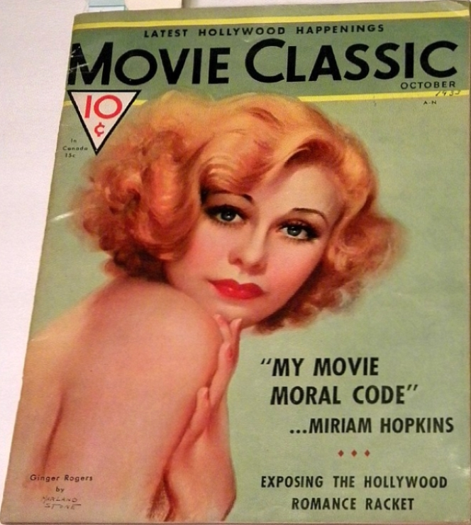 movie classic oct 1933 ginger rogers cover large