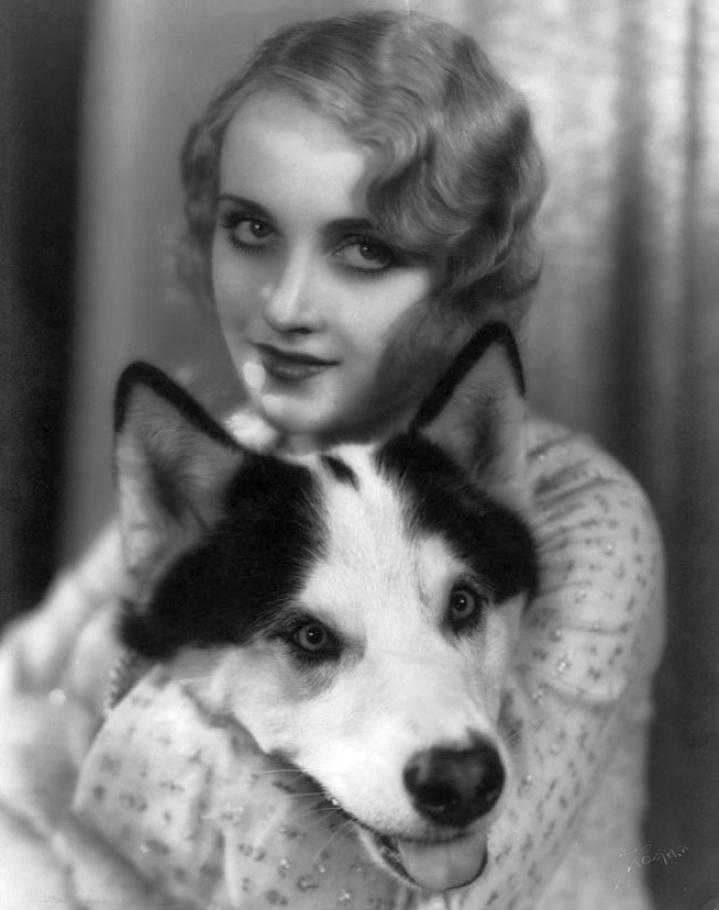 carole lombard with dog 06a