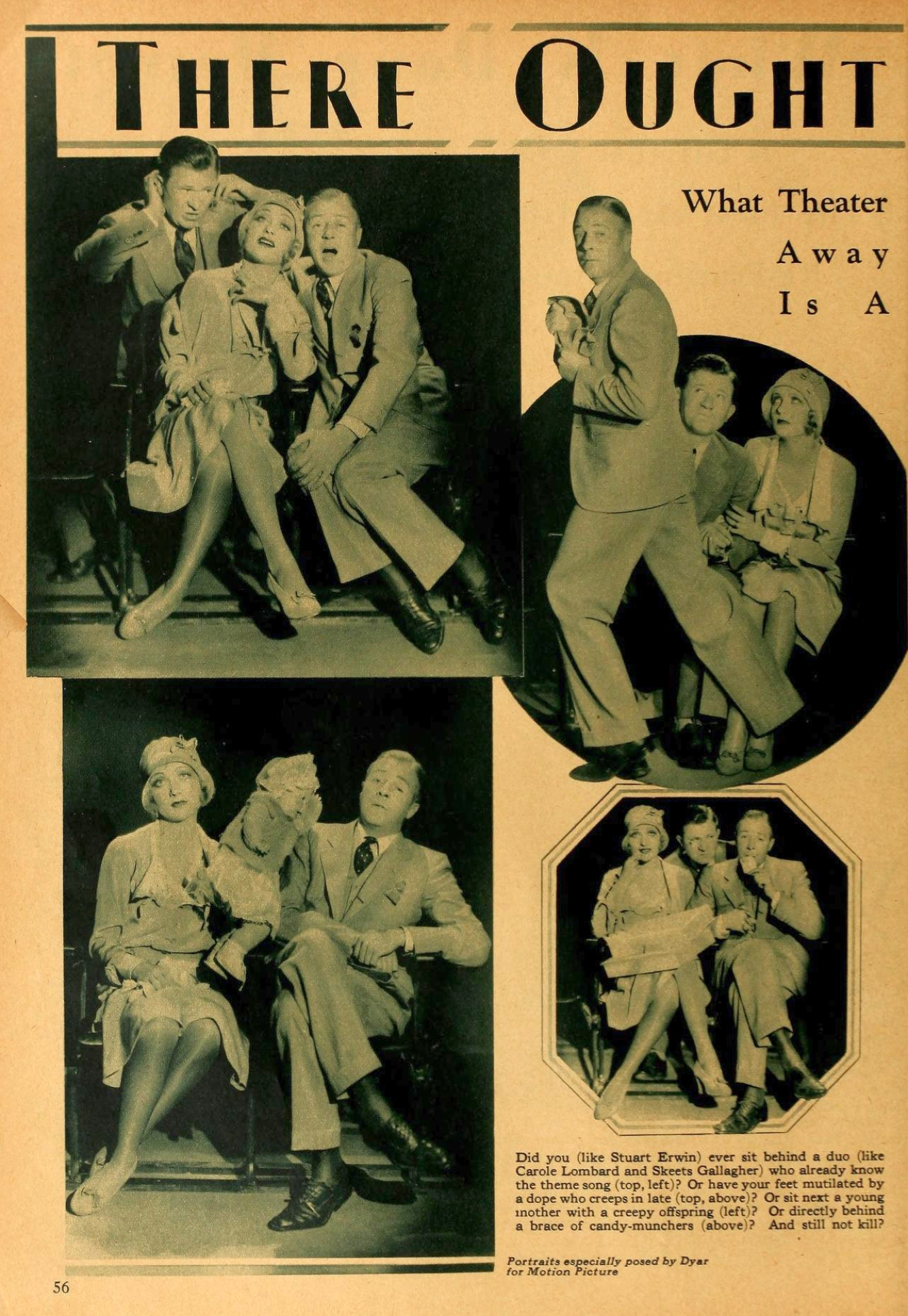 carole lombard motion picture feb 1931 there ought to be a law 00a