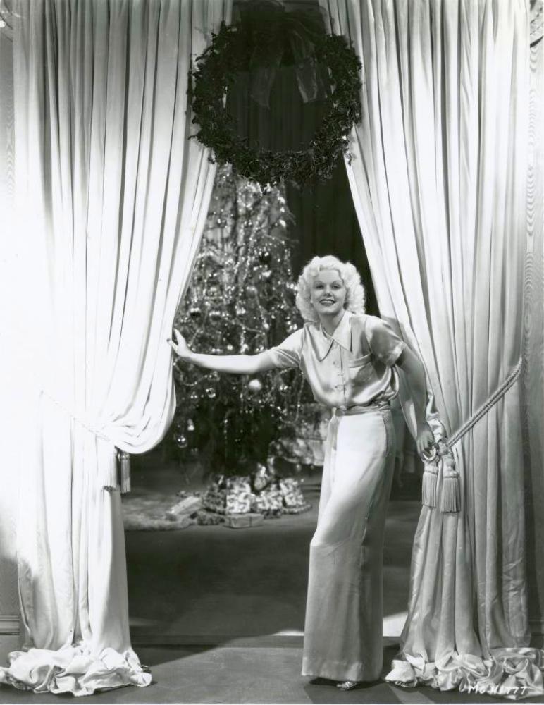 christmas jean harlow 1934a