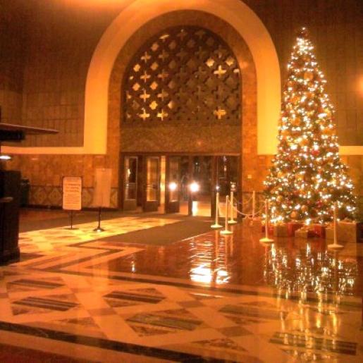 christmas los angeles union station 00