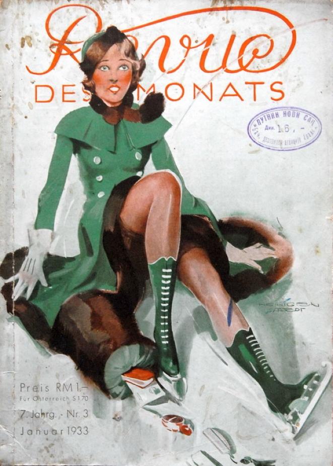 carole lombard revue des monats germany jan 1933 cover large