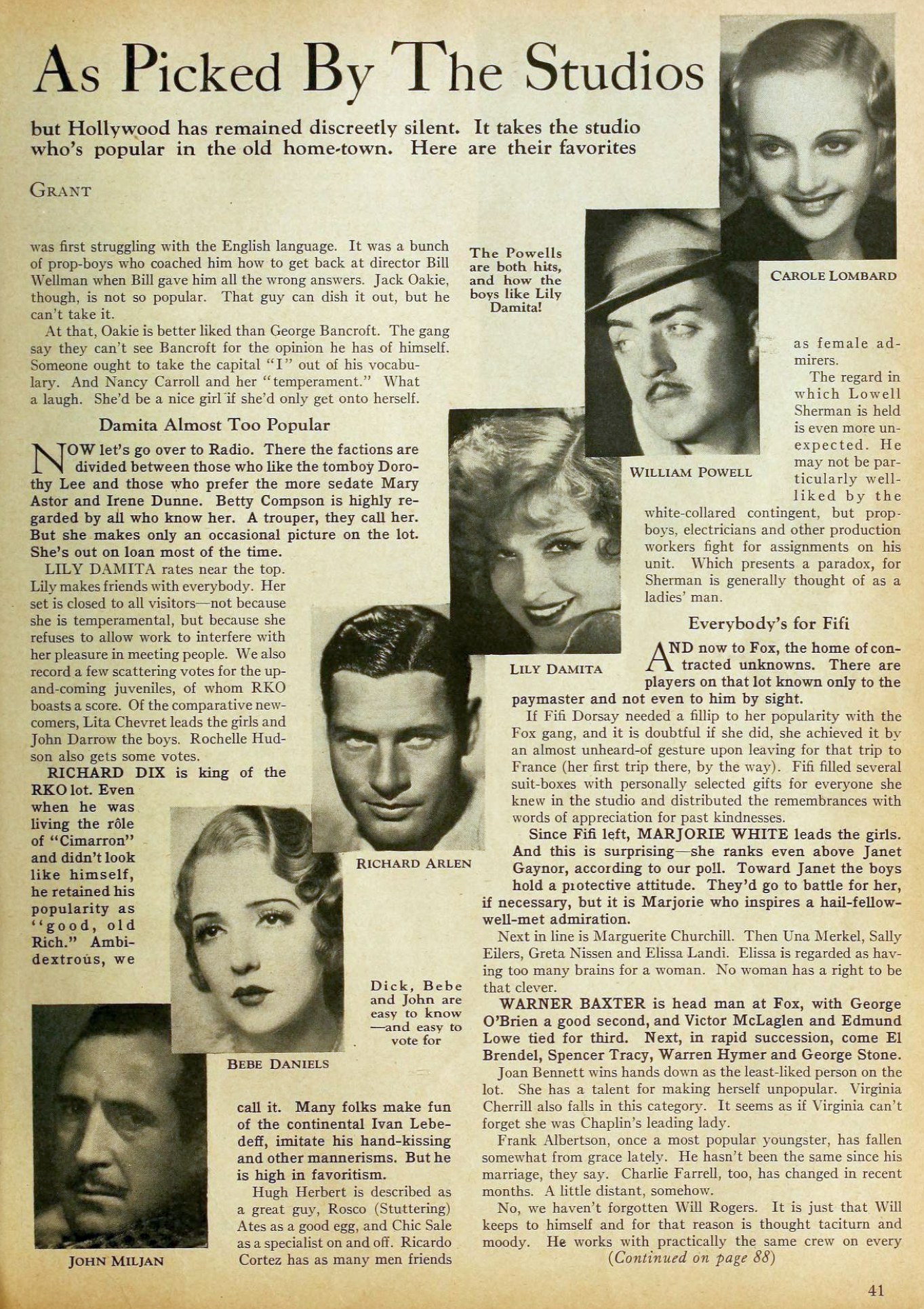 carole lombard motion picture october 1931 popular 01a