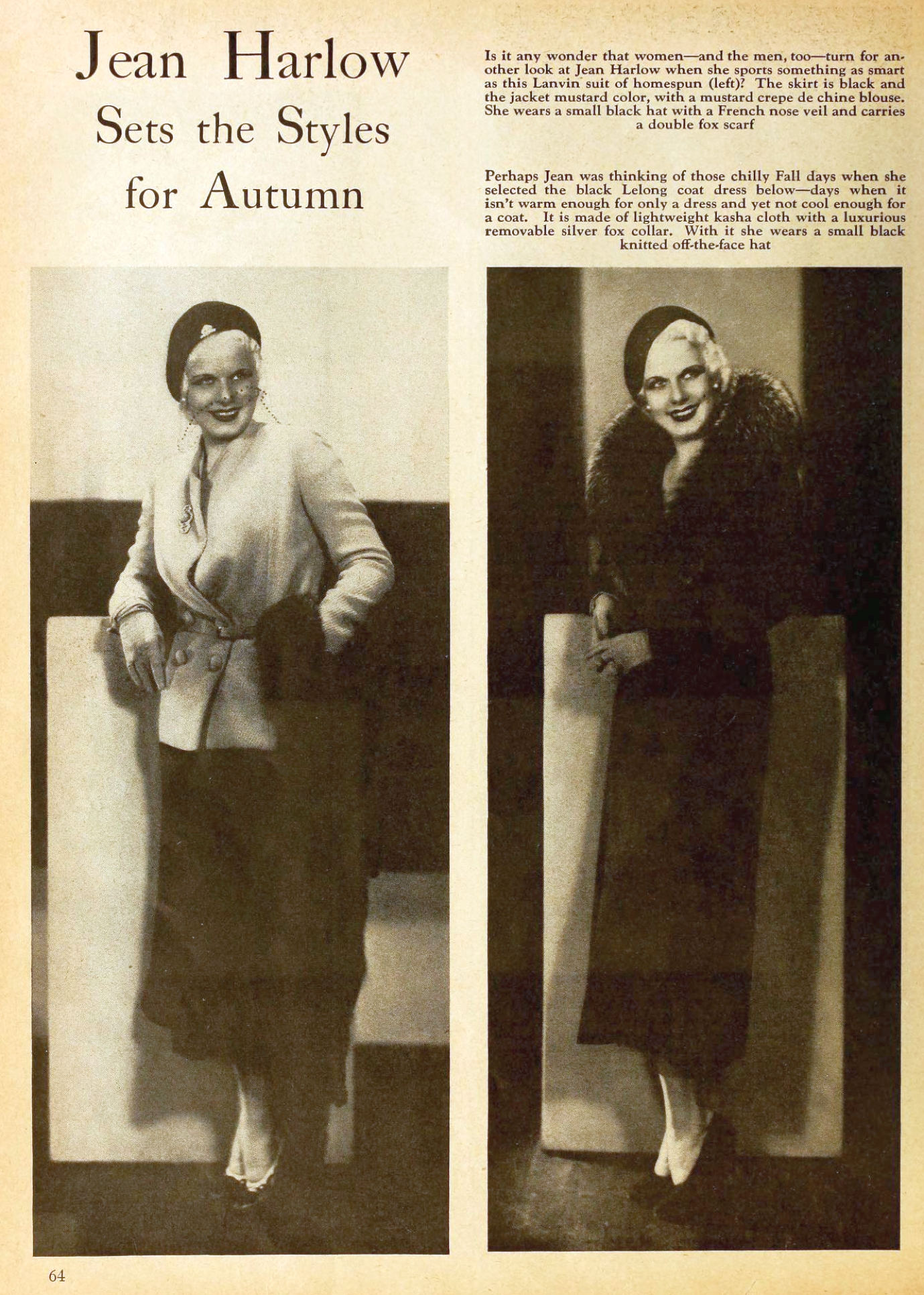 jean harlow motion picture october 1931 fall fashions 00a