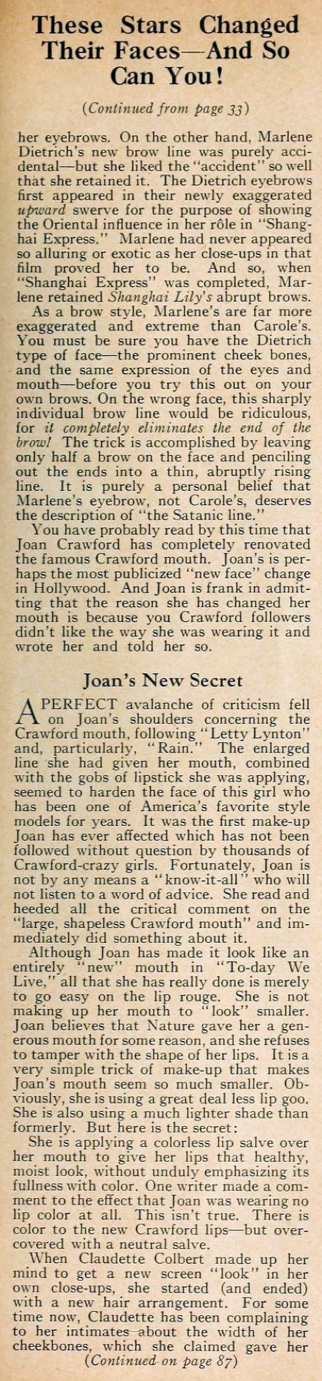 carole lombard motion picture june 1933 changed looks 02a