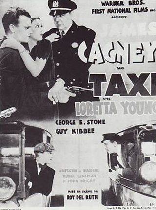 james cagney taxi! poster