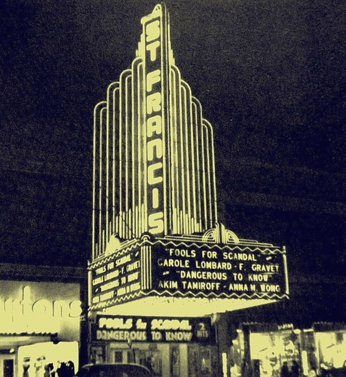 carole lombard fools for scandal st. francis theater san francisco large