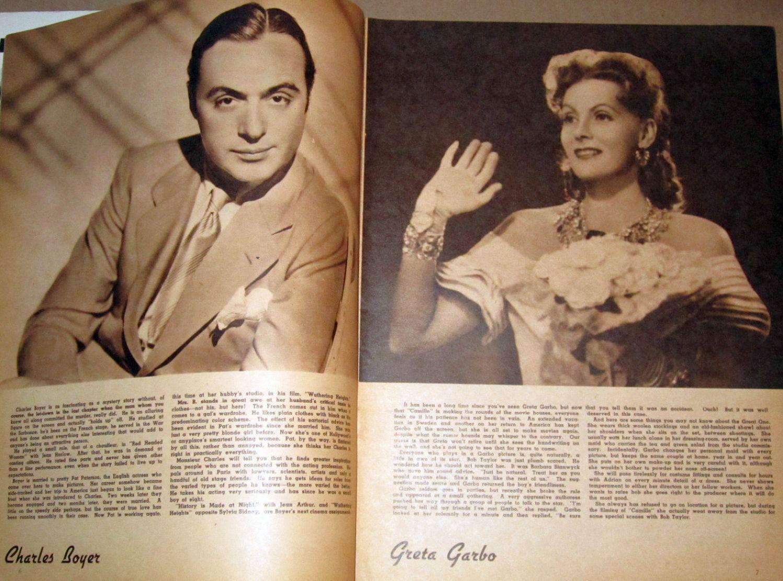 screen album for 1937 boyer garbo large