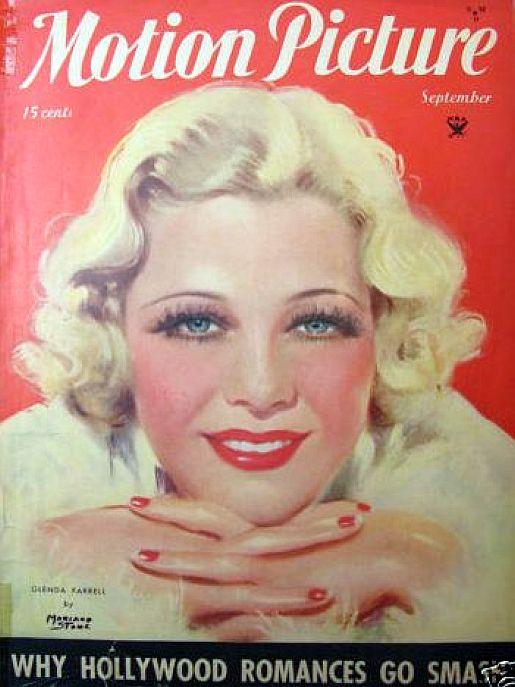 glenda farrell motion picture september 1934a