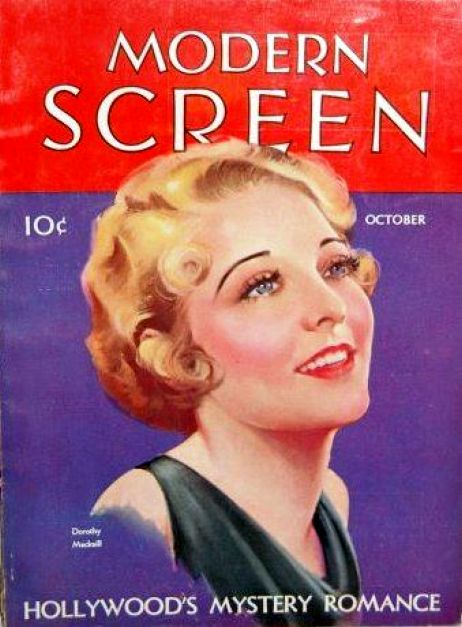 modern screen october 1931 dorothy mackaill