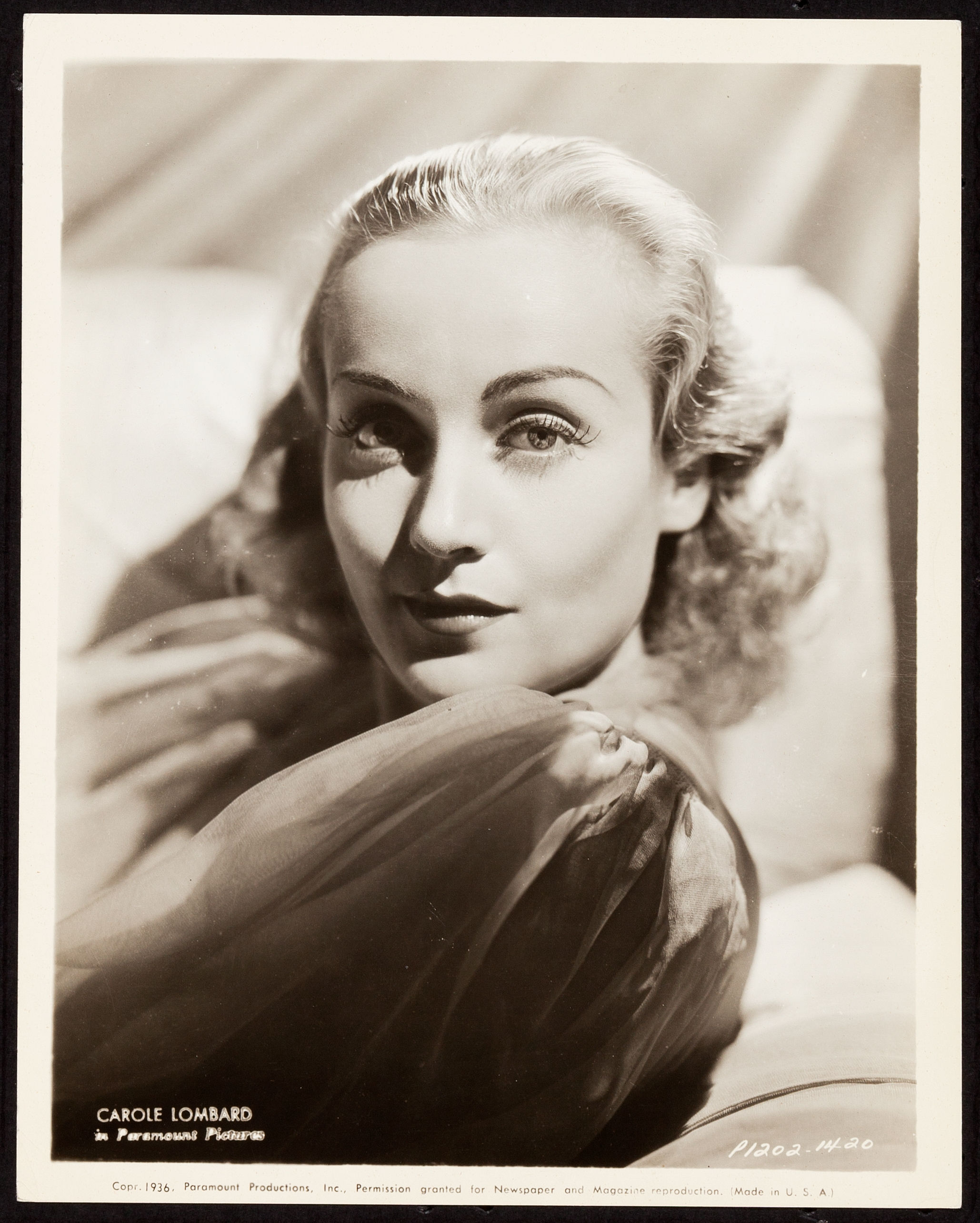 carole lombard p1202-1420 front