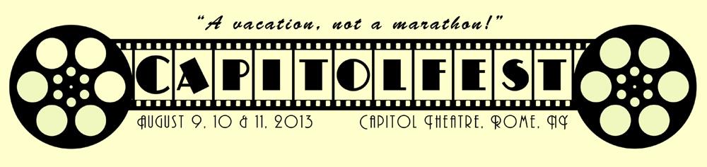 rome ny capitol theatre capitolfest 2013 logo