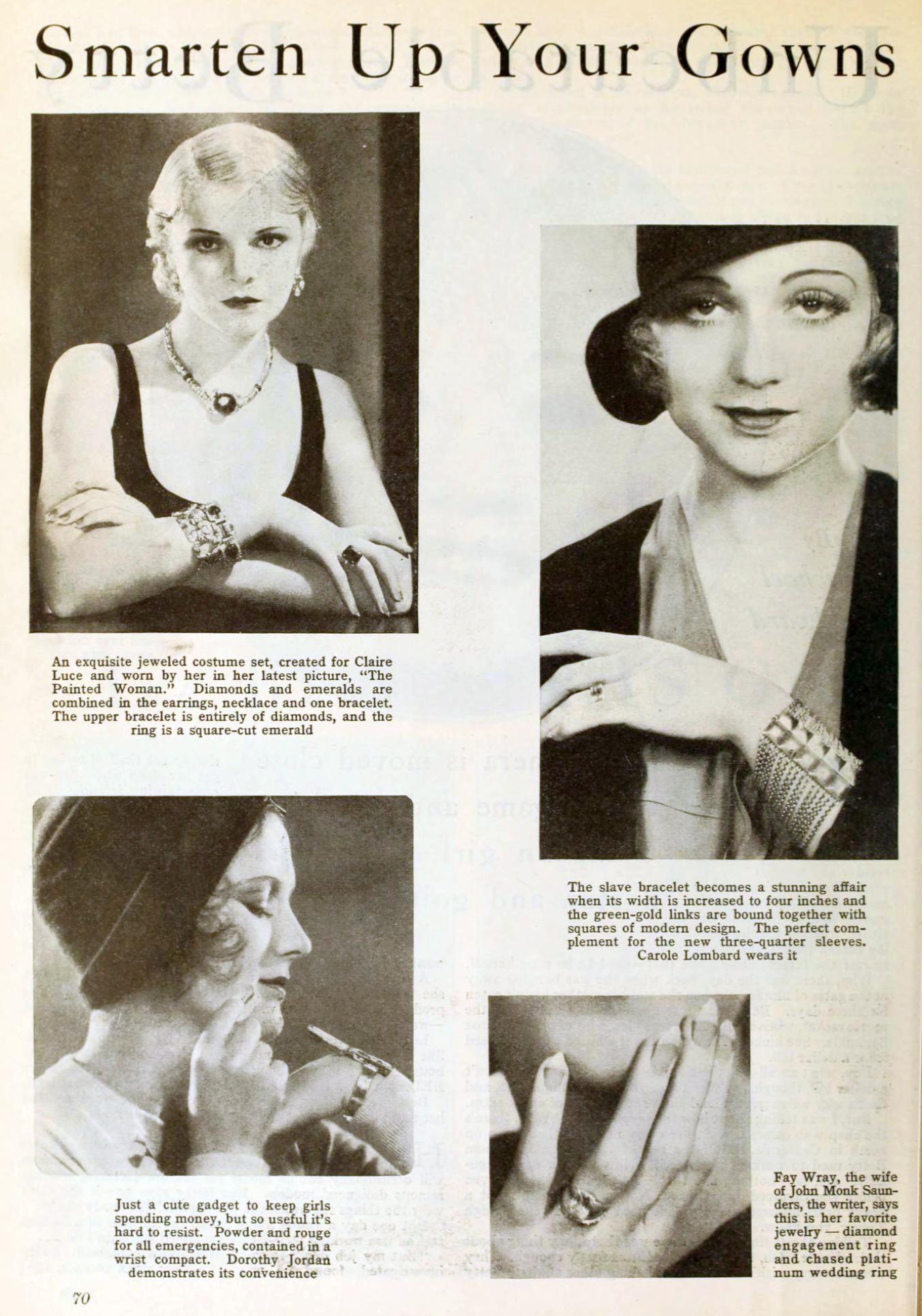 carole lombard photoplay march 1931aa