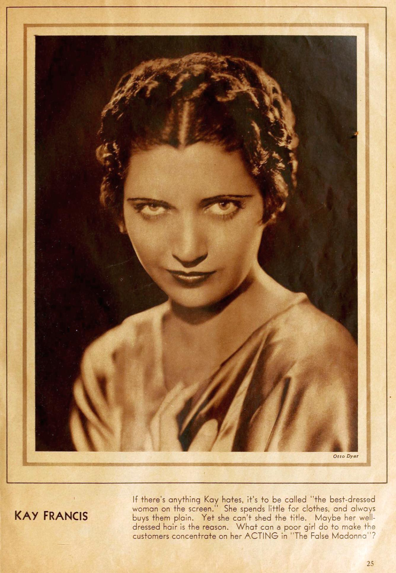 motion picture february 1932b kay francis