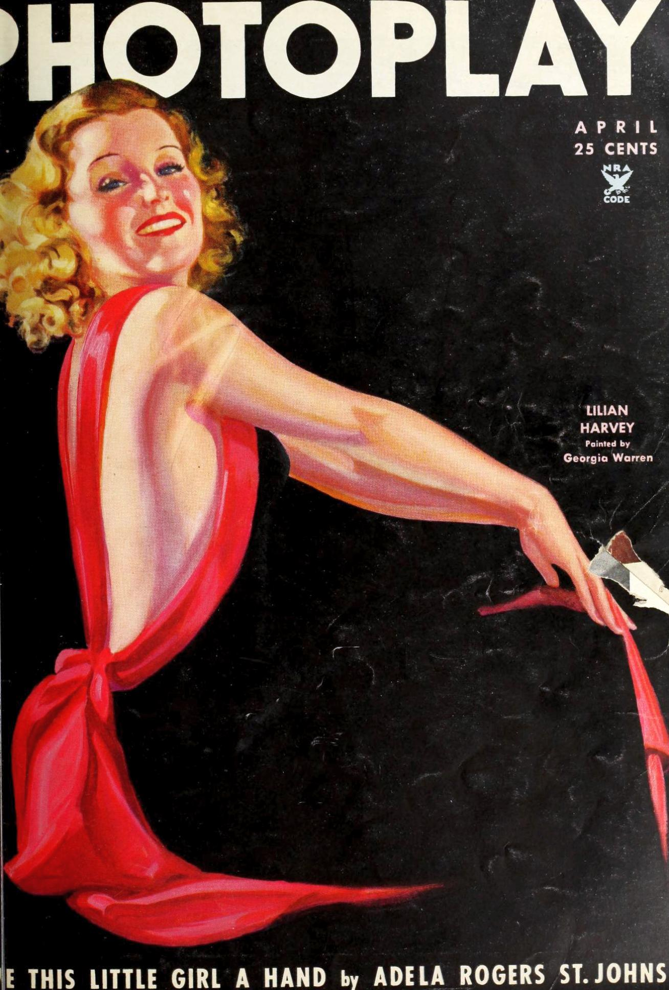 photoplay april 1935 cover large