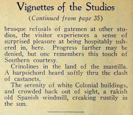 motion picture vignettes of the studios 02bb ince december 1923