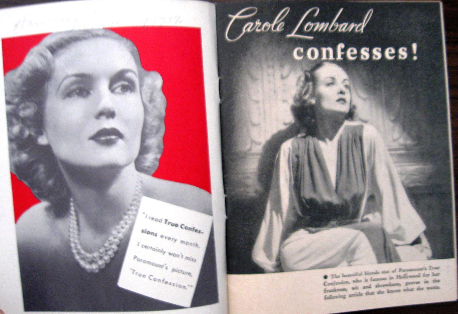 carole lombard true confession true confessions 01a