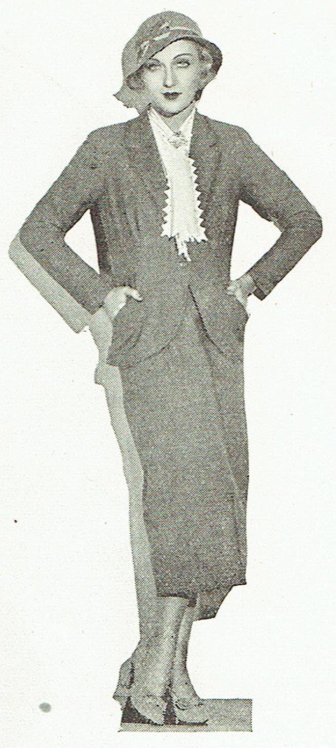 carole lombard publix theatre screen review april 1932pb