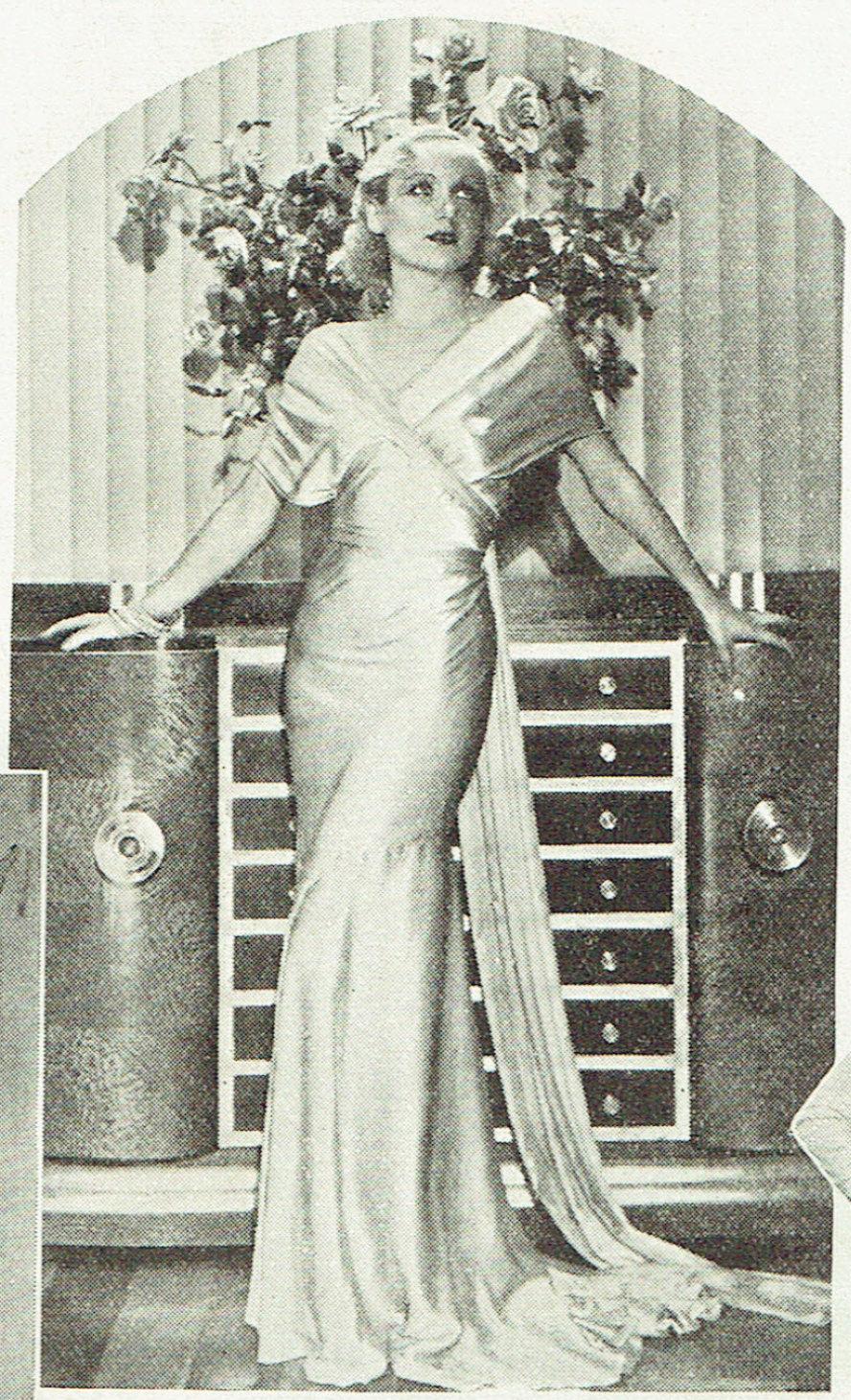 carole lombard publix theatre screen review april 1932qb