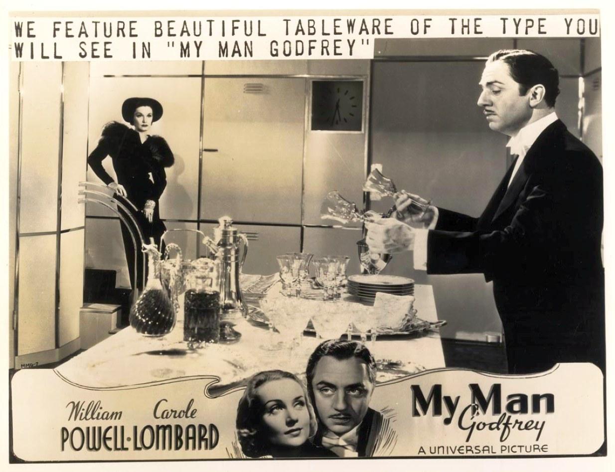 carole lombard my man godfrey advertising 00a