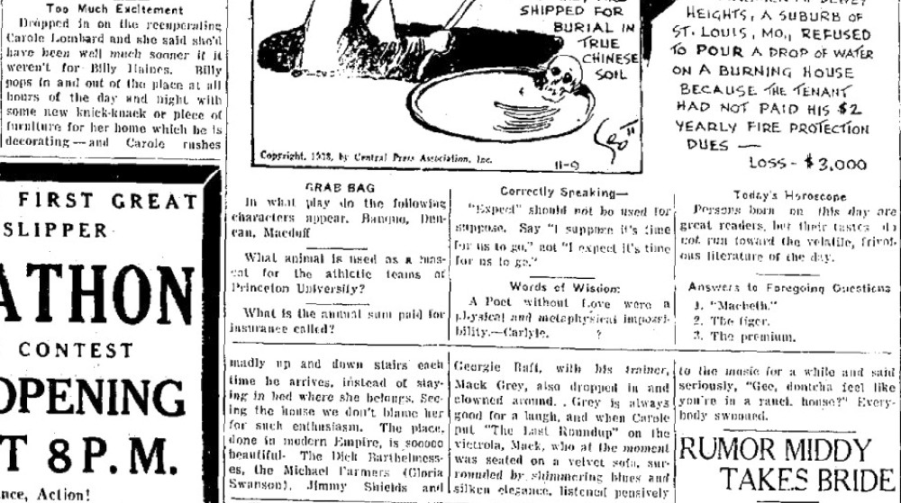 carole lombard 110933 hagerstown morning herald
